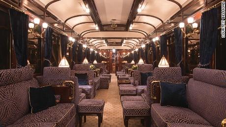 Belmond Venice Simplon Orient Express bar