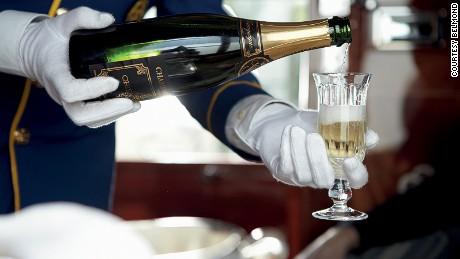 Belmond Venice Simplon Orient Express champagne