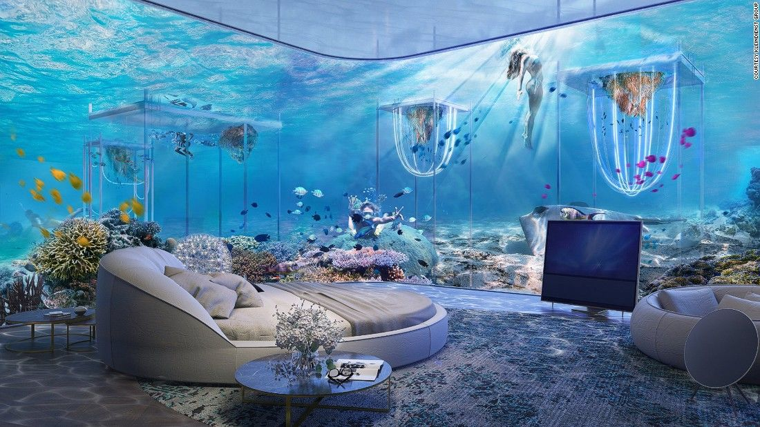 Floating Venice underwater Ca d'Oro Cabin